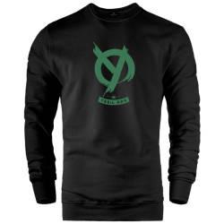 HH - Anıl Piyancı Yeşil Oda Sweatshirt - Thumbnail