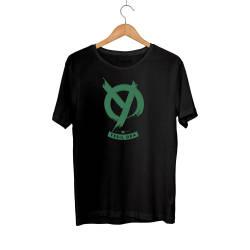 Outlet - HH - Anıl Piyancı Yeşil Oda Siyah T-shirt (Seçili Ürün)