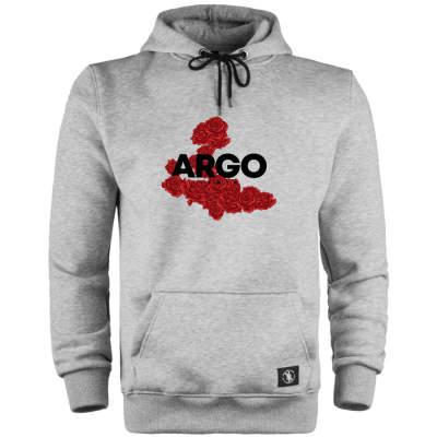 HH - Argo İzmir Rose Gri Cepli Hoodie (Fırsat Ürünü)