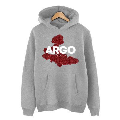 HH - Argo İzmir Rose Gri Cepli Hoodie