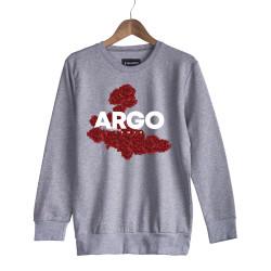 Gazapizm - HH - Argo İzmir Rose Gri Sweatshirt