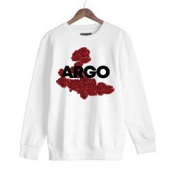 Gazapizm - HH - Argo İzmir Rose Beyaz Sweatshirt
