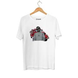 Aspova - HH - Aspova Portre Beyaz T-shirt