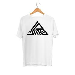 Aspova - HH - Aspova Tipografi Beyaz T-shirt (ÖN SİPARİŞ)