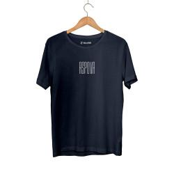 Aspova - HH - Aspova Tipografi Lacivert T-shirt (ÖN SİPARİŞ)