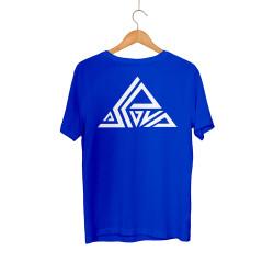 Aspova - HH - Aspova Tipografi Mavi T-shirt (ÖN SİPARİŞ)