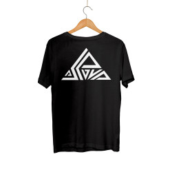 Aspova - HH - Aspova Tipografi Siyah T-shirt