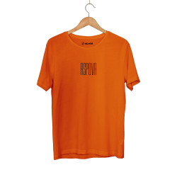 Aspova - HH - Aspova Tipografi Turuncu T-shirt (ÖN SİPARİŞ)