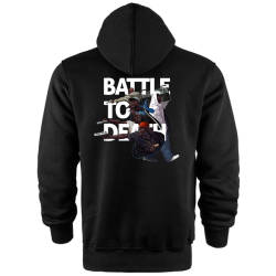Back Off - HH - Back Off Battle To Death Cepli Hoodie