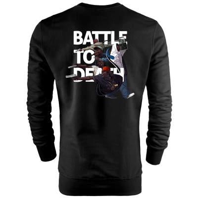 Back Off - HH - Back Off Battle To Death Sweatshirt