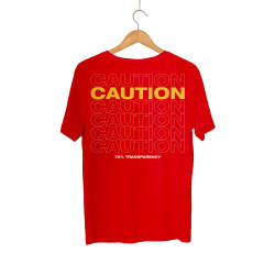 HH - Back Off Caution (Style 1) T-shirt - Thumbnail