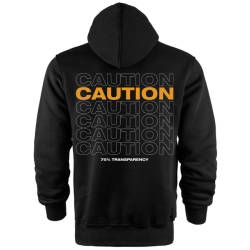 Back Off - HH - Back Off Caution (Style 1) Cepli Hoodie