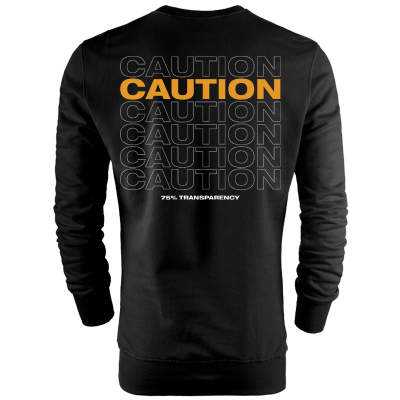 Back Off - HH - Back Off Caution (Style 1) Sweatshirt