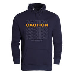 Outlet - HH - Caution (Style 2) Cepli Hoodie (SINIRLI SAYIDA)