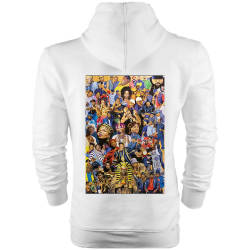 HH - Back Off HipHop Gods Cepli Hoodie - Thumbnail