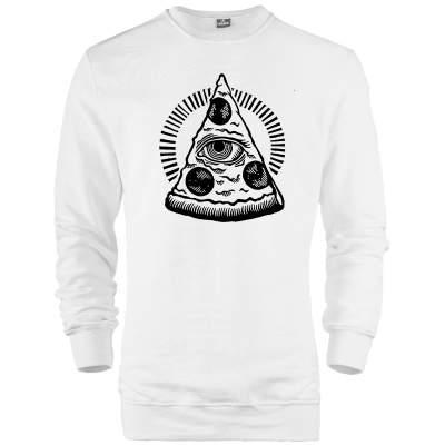 Outlet - HH - Pizza (Style 2) Sweatshirt (SINIRLI SAYIDA)