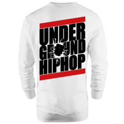 HH - Back Off Under Ground HipHop Sweatshirt - Thumbnail