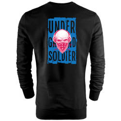 HH - Back Off Under Ground Soldier Sweatshirt - Thumbnail