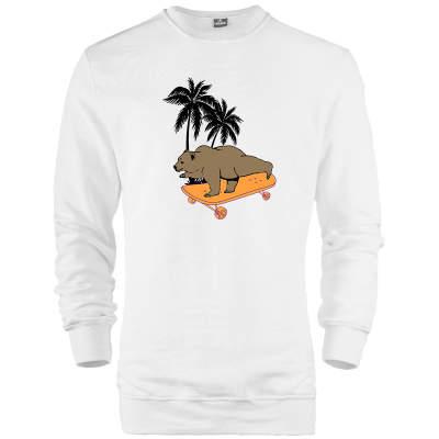 HH - Bear Gallery Bear on Skate Sweatshirt