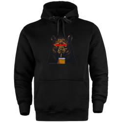 HH - Bear Gallery Beer Bear Cepli Hoodie - Thumbnail