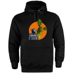 HH - Bear Gallery Cactus Bear Cepli Hoodie - Thumbnail