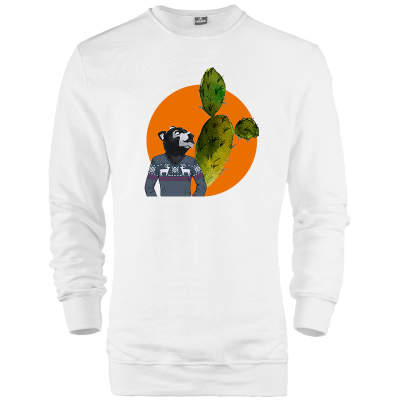 HH - Bear Gallery Cactus Bear Sweatshirt