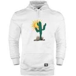 HH - Bear Gallery Cactus Cepli Hoodie - Thumbnail