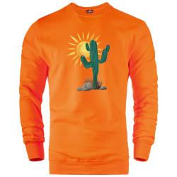 HH - Bear Gallery Cactus Sweatshirt - Thumbnail