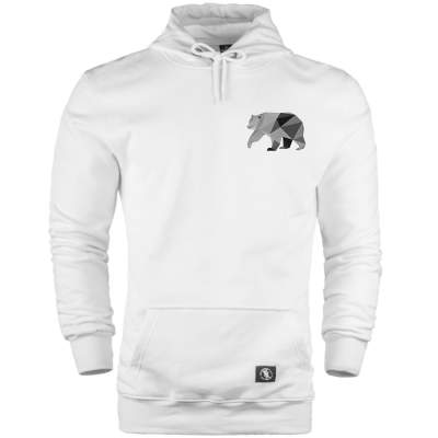 HH - Bear Gallery Grey Bear Cepli Hoodie