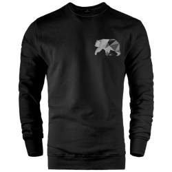 Bear Gallery - HH - Bear Gallery Grey Bear Sweatshirt