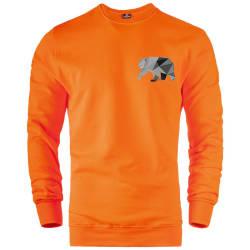 HH - Bear Gallery Grey Bear Sweatshirt - Thumbnail