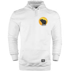 Bear Gallery - HH - Bear Gallery Sunset Bear Cepli Hoodie