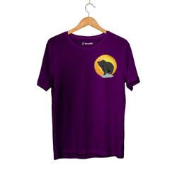 Outlet - HH - Bear Gallery Sunset Bear Mor T-shirt ( Fırsat Ürünü)