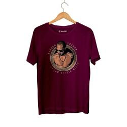 Ben Fero - HH - Ben Fero Altın Dişler Bordo T-shirt (ÖN SİPARİŞ)