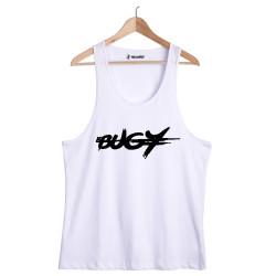 HH - Bugy Tipografi Beyaz Atlet (Seçili Ürün) - Thumbnail
