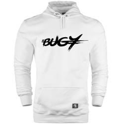 HH - Bugy Tipografi Cepli Hoodie - Thumbnail