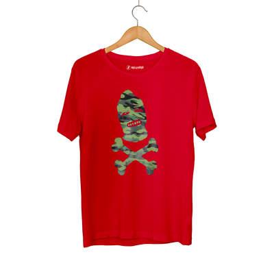 Outlet - HH - Camouflage Skull Kırmızı T-shirt (Seçili Ürün)