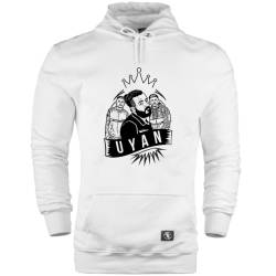 HH - Canbay & Wolker Uyan Cepli Hoodie - Thumbnail