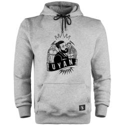 Canbay & Wolker - HH - Canbay & Wolker Uyan Cepli Hoodie