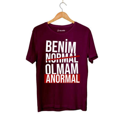 Outlet - HH - Ceg Anormal Bordo T-shirt (OUTLET)