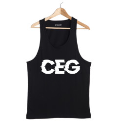 HH - Ceg Tipografi Siyah Atlet (Seçili Ürün) - Thumbnail