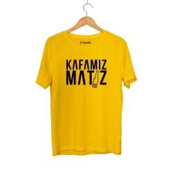 Ceg - HH - Cegıd Kafamız Matiz Sarı T-shirt