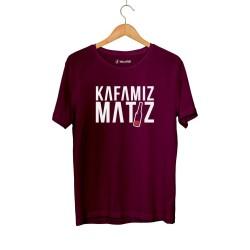 Ceg - HH - Cegıd Kafamız Matiz Bordo T-shirt