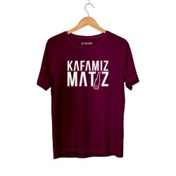 Ceg - HH - Cegıd Kafamız Matiz Bordo T-shirt (Outlet)