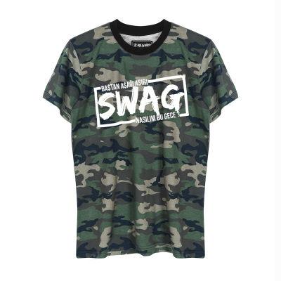 HH - Ceg Swag Kamuflaj T-shirt (Seçili Ürün)