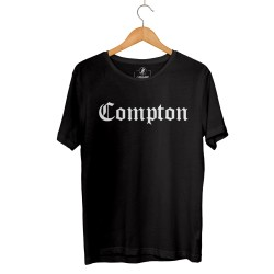 HH - Compton Siyah T-shirt (Seçili Ürün) - Thumbnail