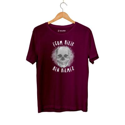 HH - Contra Egom Bilir Ben Bilmez Bordo T-shirt