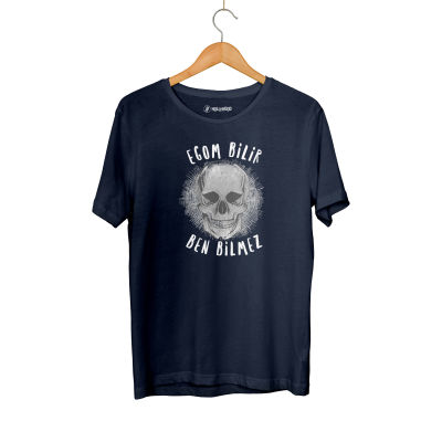 HH - Contra Egom Bilir Ben Bilmez Lacivert T-shirt