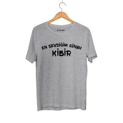 HH - Contra Günah Kibir Gri T-shirt