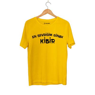 HH - Contra Günah Kibir Sarı T-shirt